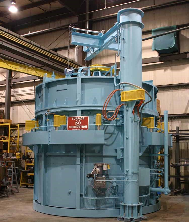Pit Furnaces for atmosphere and direct-fired applications, standard pit furnaces can hold up to 30,000 lbs., reliable furnaces